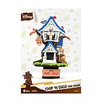 Disney - Diorama Summer Series D-Stage Tic et Tac Tree House 16 cm