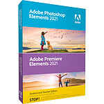 Adobe Photoshop Elements & Premiere Elements 2021 - EDUCATION - Licence perpétuelle - 2 PC - A télécharger
