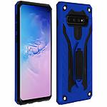 Avizar Coque Bleu Hybride pour Samsung Galaxy S10