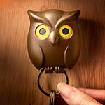 Accroche-clés hibou