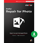 Stellar Repair for Photo - Licence 1 an - 1 poste - A télécharger