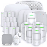 Alarme maison Ajax StarterKit blanc - Kit 13