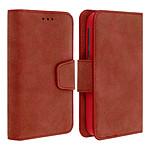 Avizar Etui folio Rouge pour Tous les smartphones jusqu'à 5,5 pouces