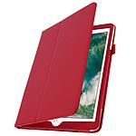 Avizar Etui folio Rouge pour Apple iPad Air , Apple iPad 9.7 2017 , Apple iPad 5 , Apple iPad 9.7 2018