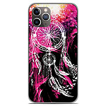 1001 Coques Coque silicone gel Apple iPhone 11 Pro motif Dreamcatcher Rose