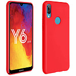 Avizar Coque Rouge pour Huawei Y6 2019