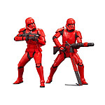 Star Wars Episode IX - Pack 2 statuettes ARTFX+ Sith Troopers 15 cm