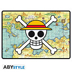 One Piece -  Tapis De Souris Gaming Skull With Map