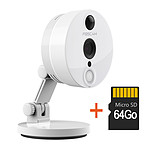 Foscam C2 - Camera compacte infrarouge 10m - 1080 P avec carte SD 64 Go