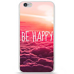 1001 Coques Coque silicone gel Apple iPhone 6 Plus / 6S Plus motif Be Happy nuage