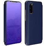 Avizar Etui folio Bleu Nuit pour Samsung Galaxy S20