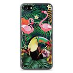 1001 Coques Coque silicone gel Apple IPhone 7 Plus motif Tropical Toucan