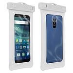 Avizar Housse étanche Blanc pour Tous Smartphones de taille max. (L)71 x (H)160 x (P)14 mm