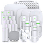 Alarme maison Ajax StarterKit Plus blanc - Kit 10