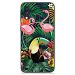 1001 Coques Coque silicone gel Samsung Galaxy A40 motif Tropical Toucan