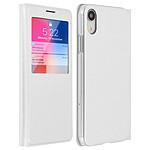 Avizar Etui folio Blanc pour Apple iPhone XR