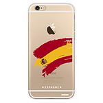 EVETANE Coque iPhone 6/6S rigide transparente Espagne Dessin