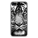1001 Coques Coque silicone gel Apple IPhone 8 motif Tigre blanc et noir