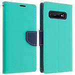 Avizar Etui folio Vert pour Samsung Galaxy S10