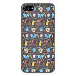 1001 Coques Coque silicone gel Apple iPhone 7 motif Happy animals