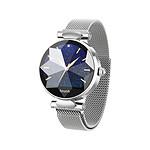 Inkasus Montre connectée multisports - Edition Diamond  Argent