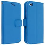 Avizar Etui folio Bleu pour Xiaomi Redmi Go