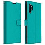 Avizar Etui folio Turquoise pour Samsung Galaxy Note 10 Plus