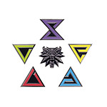 The Witcher 3 Wild Hunt - Pack 6 badges