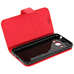 Avizar Etui folio Rouge pour Samsung Galaxy J3