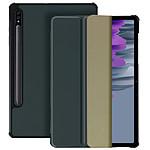 Avizar Etui folio Gris pour Samsung Galaxy Tab S7 Plus 12.4