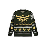 The Legend of Zelda - Sweat Christmas Triforce - Taille S