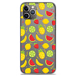 1001 Coques Coque silicone gel Apple iPhone 11 Pro motif Fruits tropicaux