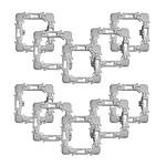 Fibaro Lot de 10 adaptateurs pour montage de modules Walli sur façades Schneider