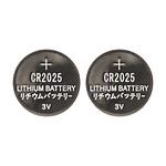 Thomson 150386  Pack 2x piles lithium bouton CR2025