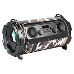 Avizar Enceinte Bluetooth SoundTube Karaoke Stéréo LED 8H REBELTEC - Vert