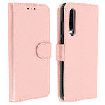 Avizar Etui folio Rose Champagne Portefeuille pour Huawei P30