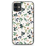 1001 Coques Coque silicone gel Apple iPhone 11 motif Flowers
