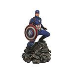 Marvel Movie Premier Collection - Statuette Avengers : Endgame Captain America 30 cm
