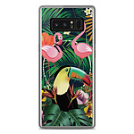 1001 Coques Coque silicone gel Samsung Galaxy Note 8 motif Tropical Toucan