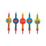 DC Comics - Pack 10 bougies Superman