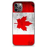 1001 Coques Coque silicone gel Apple iPhone 11 Pro motif Drapeau Canada