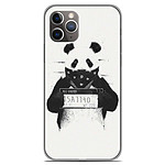 1001 Coques Coque silicone gel Apple iPhone 11 Pro motif BS Bad Panda