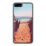 1001 Coques Coque silicone gel Apple IPhone 8 Plus motif Chemin de plage