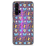 1001 Coques Coque silicone gel Huawei Honor 20 Pro motif Happy animals