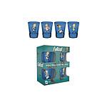Fallout - Set 4 verres à liqueur Premium Vault Boy