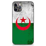 1001 Coques Coque silicone gel Apple iPhone 11 Pro motif Drapeau Algérie