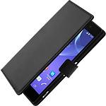 Avizar Etui folio Noir pour Sony Xperia Z2