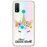 1001 Coques Coque silicone gel Huawei P Smart 2020 motif Unicorn World