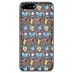 1001 Coques Coque silicone gel Apple iPhone 8 Plus motif Happy animals