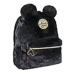 Disney - Sac à dos peluche Black Collection Mickey 28 x 33 x 12 cm